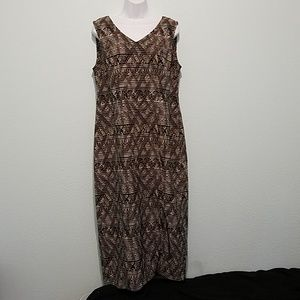 Kathie Lee Collection Size L Sleeveless Long Dress